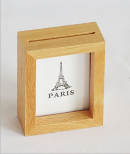 Natural Wooden Photo Frame Beach Themed Photo Frame Wooden Deep Shadow Box pictures & photos