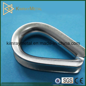 DIN6899b Stainless Steel Wire Rope Thimble pictures & photos