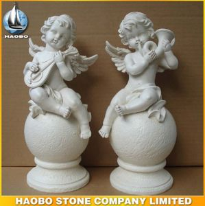 Middle Size Stone Cherub Sculptures Custom Design pictures & photos