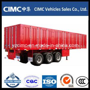Cimc Van Box Container Semi Trailer Van Semi-Trailer pictures & photos