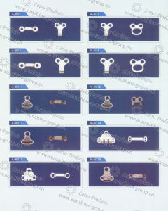 2 Parts of Trouser Hook pictures & photos
