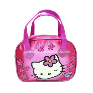 Hand Bag for Girl with Satin (YX-HB-0155)