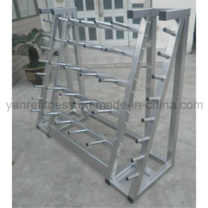 Newest Gym Accessories Rack, Barbell Plate Rack pictures & photos