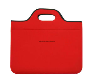 China Made Neoprene Laptop Shoulder Bag pictures & photos