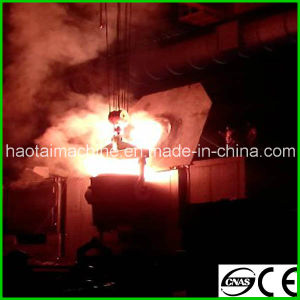 Steel Shell Induction Furnace for Melting pictures & photos