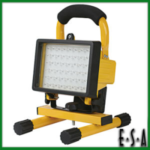 2015 Outdoor Emergency Super Bright Aluminium Flood Light, Rechargeable LED Emergency Light, Cheap 48LED Emergency Light G05b109 pictures & photos