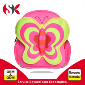 2016 New Design Neoprene Kids Butterfly Casual Backpack for Hiking, Outdoor, Travel