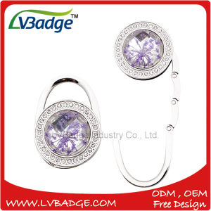 Customized Metal Foldable Bag Hanger pictures & photos