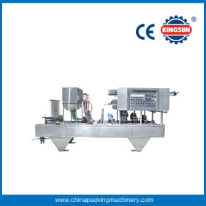 Four Cups Automatic Cup Fill-Seal-Cut Machine (CFD-4) pictures & photos