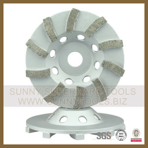 High Quality Diamond Abrasive Cup Wheel Polishing pictures & photos