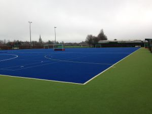 Football Court Used Fibrillated Artificial Turf pictures & photos