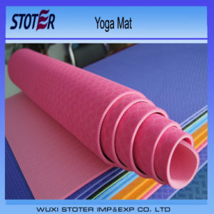 Procircle Eco Natural PVC NBR TPE Yoga Mat pictures & photos