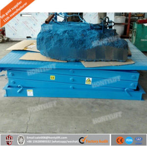 Hydraulic Stationary Scissor Basement Lift pictures & photos