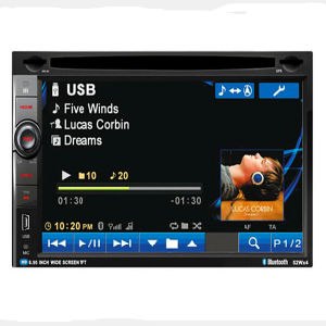 Universal Car Media System/Car DVD Player with Radiao Bluetooth pictures & photos