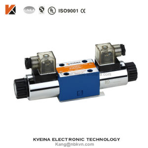 4we6 Hydraulic Directional Control Valve with Voltage 12VDC 24VDC 110VAC 220VAC Rexroth Ng6 pictures & photos