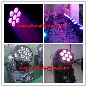 7X10W RGBW Wash Moving Head Party Decoration pictures & photos