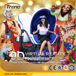 360 Degree Full Viewing 3 Seats 9d Virtual Reality Simulator Egg Interactive Cinema pictures & photos