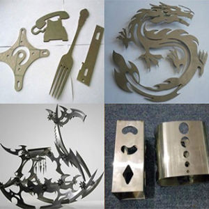 CNC Sheet Metal Fabric Laser Cutting Machine with Auto CAD Software pictures & photos