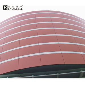 Hyperbolic Aluminum Panels for Aluminum Facade pictures & photos