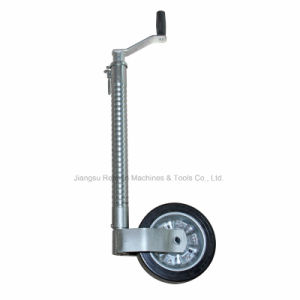 Trailer Parts Ribbed Jockey Wheel (EST48-BY)