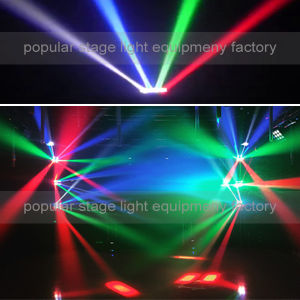 8PCS*10W RGBW 4in1 LED Mini Spider Beam Moving Head Light pictures & photos