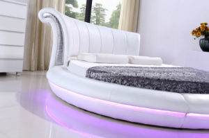 Cy011 New Model Modern King Size Round Bed pictures & photos