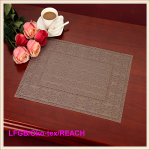 PVC Pressed and Cutout Placemat (JFCD-005) pictures & photos