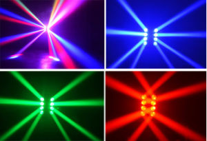 RGB LED Shaking Spider Light, LED Stage Lamp pictures & photos
