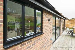 Condensation Channel Double Glass Aluminium Windows pictures & photos