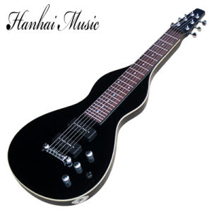 Hanhai Music / Black Hawaii Slide Bar Unuaual Electric Guitar pictures & photos