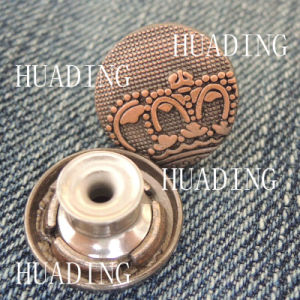 Special Fashion Beautiful Jeans Metal Shank Button of Garment (HD1134-15) pictures & photos