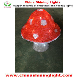 Christmas Holiday Party acrylic Mushroom Design LED Lights pictures & photos