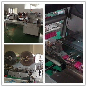 Moon Cake Automatic Into Tray Feeding and Package Machine pictures & photos