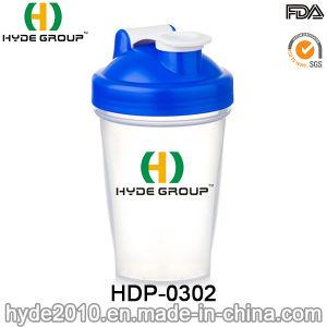 400ml Wholesale BPA Free Plastic Blender Shaker Water Bottle, 2017 PP Plastic Protein Shaker Bottle (HDP-0302) pictures & photos