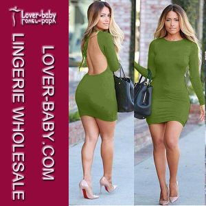 Backless Mini Dress Party Women Clothing (L28006) pictures & photos