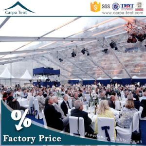 Facy Waterproof Transparent PVC Fabric 25X35m Wedding Marquee Tent for Garden Party pictures & photos