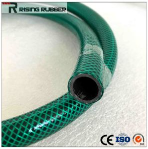 PVC Fiber Braided Reinforced Flexible Water Garden Hose pictures & photos