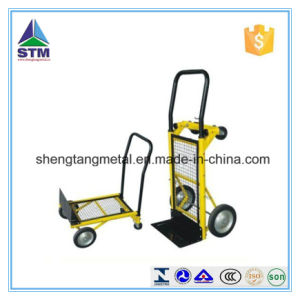 Heavy Duty Folding Truck Hand Sack Trolley Garden Platform Trolley pictures & photos