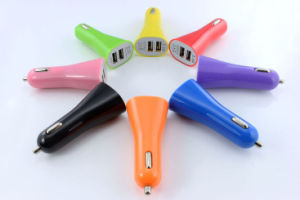 2 Port USB Car Charger for Samsung HTC iPhone5 /5s iPhone6 pictures & photos
