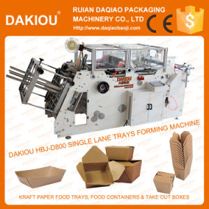 High Speed Automatic Fast Food Box Making Machine pictures & photos