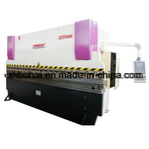 Wc67k-100t/3000 Series Mechanical Servo CNC Bending Machine pictures & photos