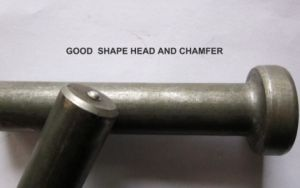 Shear Stud with Chamfer or Slightly Curve Treatment pictures & photos
