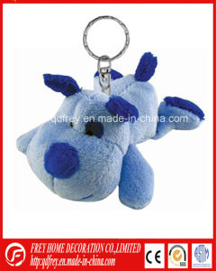 Soft Blue Cute Plush Dog Toy Keychain pictures & photos