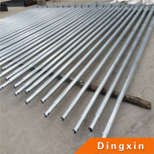 Hot Deep Galvanized Round and Conical Street Lighting Pole pictures & photos
