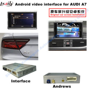 Car Upgrade Multimedia HD Video Interface Android System GPS Navigator for A7 Support DVD/TV/Mirrorlink pictures & photos