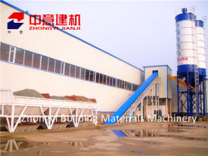 Hzs 35 M3/H Stationary Concrete Batching/Mixing Plant with Sicoma Mixer for Construction pictures & photos