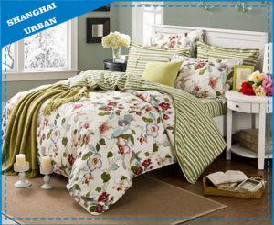 Flower Stripe Bedding Set Duvet Cover pictures & photos