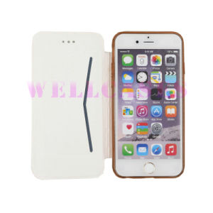 Factory Price Electroplate Flip TPU Leather Mobile Phone Case