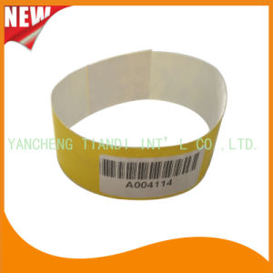 Tyvek Entertainment Custom Party VIP Paper ID Wristbands (E3000-1-48) pictures & photos