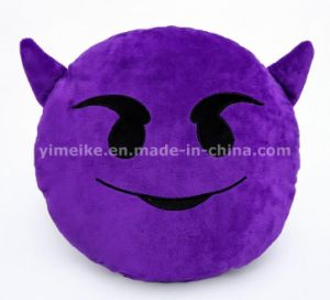 Hot Sale Comfortable Plush Decorative Emoji Pillows in Stock pictures & photos